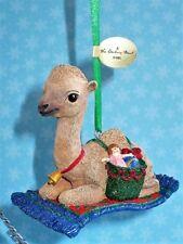 Danbury Mint Christmas The Baby Animals Ornaments Camel On Rug Nwt