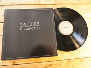 EAGLES THE LONG RUN LP 33T VINYLE EX COVER EX ORIGINAL 1979 GATEFOLD