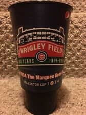 Chicago Cubs Wrigley Field 100 Years Marquee Commemorative #2 Collector Cup 2014