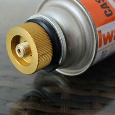 New Camping Stove Burner Connector Propane Butane Gas Conversion Head Adaptor US