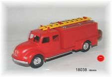 Märklin 18038 Feuerwehr-Gerätewagen Metallausführung NEU in OVP#