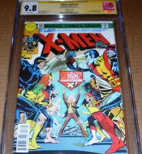 X-Men Gold #13 Lenticular Variant CGC SS 9.8 SIGNED Stan Lee Marvel Uncanny #100