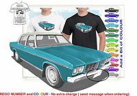 CLASSIC 71-74 HQ HOLDEN STATESMAN ILLUSTRATED T-SHIRT MUSCLE RETRO SPORTS