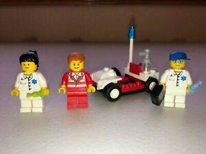 LEGO White Minifig City Hospital Medic Stretcher