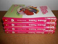 Momo Tama Volume 1 2 3 4 Manga Graphic Novel Book Lot in English