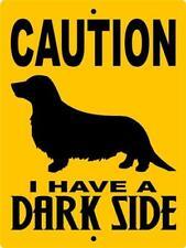 5011 DACHSHUND DOG SIGN VINYL OUTDOOR INDOOR 9 X 12