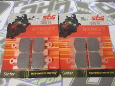 SBS Street Excel Travertino Hh Delantero Pastillas De Freno Para Kawasaki ZX10R Ninja 2004-2007