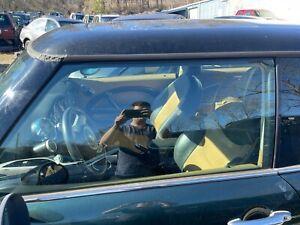 02-06 MINI COOPER R50 R53 DRIVER LEFT SIDE FRONT DOOR GLASS WINDOW OEM