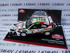 RMC28E 1/43 IXO altaya Rallye Monte Carlo : TOYOTA Corolla D.Auriol 1999 castrol