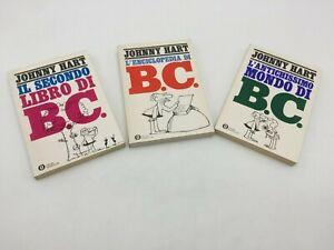 Johnny Hart I FUMETTI DI B.C. 3 Voll. 1a Edizione Oscar Mondadori