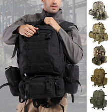 50L Tactical 3 Day Assault Military Rucksack /Army Backpack /Camping Hiking Bag