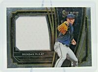 2020 Select Brendan McKay RC Rookie Jumbo Patch #RJS-BM Tampa Bay