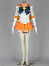 Pretty Soldier Sailor Moon Sailor Venus Minako Aino Fighting Cosplay Costume