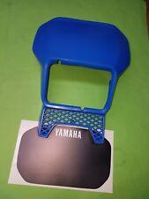 - Yamaha xt600 XT 1vj 2kf tenere Mascherina FARI FANALI Maschera Maschera Blu Black