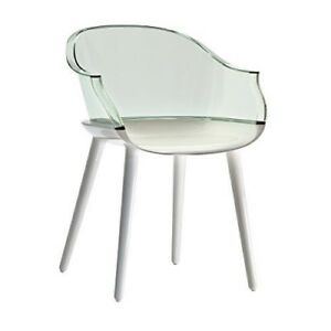 Magis  Club Cyborg Armchair Glossy White Designer Dining Chair RRP £372 SALE