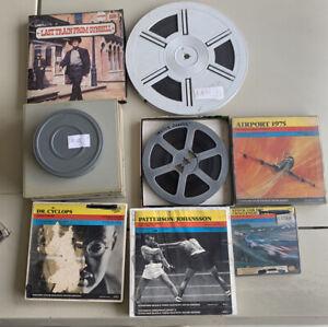Super 8mm Sound Films Lot Of 9