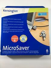 Kensington MicroSaver Keyed Laptop Lock - 6' Cable - Notebook Projector Monitor