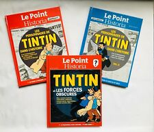 Lot BD Tintin Le point Historia Les personnages & Les forces obscures / EO HERGE