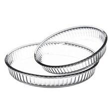 BORCAM Moule de cuisson rond verre moule à soufflé Moule SERVICE PASABAHCE NEUF