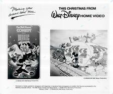 Press Photo Publicity Still 8x10 ~Walt Disney Comedy and Magic~ Promo Material