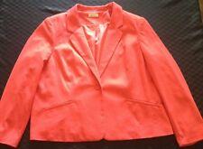 Ladies Orange Autograph Jacket