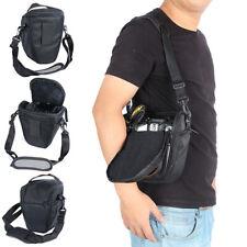 Waterproof Camera Case Shoulder Bag Backpack For Canon/Nikon-Sony SLR DSLR Black
