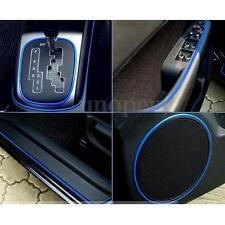 BLUE 10FT 3M FLEXIBLE TRIM CAR INTERIOR EXTERIOR MOULDING STRIP DECORATIVE DECOR