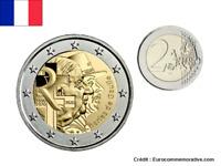 2 Euros Commémorative France 2020 Charles de Gaulle UNC