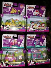 lot of 4 Hello Kitty and Friends Dazzle Dash Collector's Die Cast Series