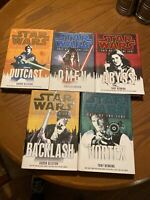 Star Wars Fate Of The Jedi Hardcover First Edition Lot