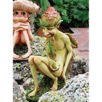 Enchanted Fantasy Garden Troll Sculpture Mystical Statue Garden Decor