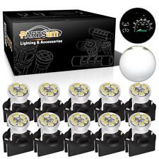 10 Pack White  PC194 Led Instrument Panel Cluster Light Dashboard Bulb For Dodge