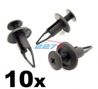 9mm Plastic Trim Panel Clips- Bumper & Sill Moulding Clips- For Toyota & Lexus