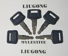 ( 5 ) LIUGONG KEYS Heavy Equipment Ignition Excavator Keys .... FAST SHIPPING