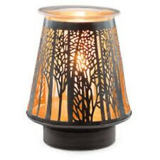 Authentic Scentsy In The Shadows Lamp Wax Warmer