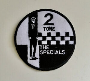 TWO TONE MADSTOCK SKA MUSIC- The Specials-Embroidered Patch Iron on Sew On Badge