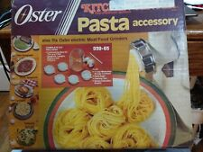 Oster Kitchen Center Pasta Accessory 939-65 Discs & Auger everything in pics