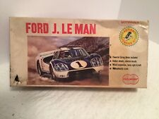 RARE VINTAGE PARAMOUNT  FORD J. LE MAN 1/32 SCALE MODEL KIT MOTORIZED