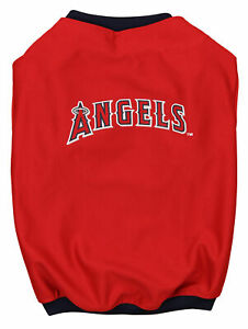 Sporty K-9 MLB Los Angeles Angels Baseball Dog Jersey, Red