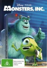 DISNEY'S MONSTERS, INC DVD=REGION 4 AUSTRALIAN RELEASE=BRAND NEW AND SEALED