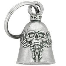 Porte Clef Clochette porte-bonheur Tête de mort Skull ailé Iron Guardian Bell