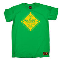 Cycling T-Shirt Funny Novelty Mens tee TShirt - Warning May Spontaneously Start