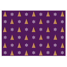 Unique High Quality Gold Coloured Christmas Tree Wrapping Paper-Size A3-GP230