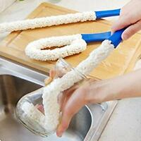 New Flexible Bottle Scourer Sponge Clean Cleaning Brush Kitchen Gadgets Tool MA