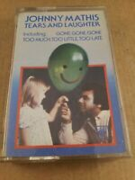 Johnny Mathis : Tears and Laughter : Cassette Tape Album from 1980
