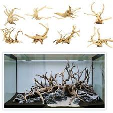 Wood Natural Trunk Driftwood Branch Plant Ornament Decor for Aquarium Fish Tank