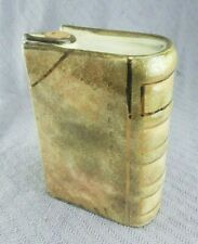 Vintage Book Flask Porcelain gold leaf