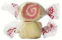 GOURMET STRAWBERRY CHEESECAKE Salt Water Taffy - TAFFY TOWN 1/4LB to 10LB BAG