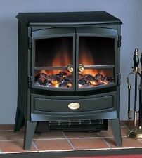 Dimplex Springborne 2kw Black Stove Style Electric Fire Includes Remote Control