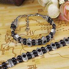 DIY NEW Fashion Free shipping Jewelry Tibet jade turquoise bead bracelet S263